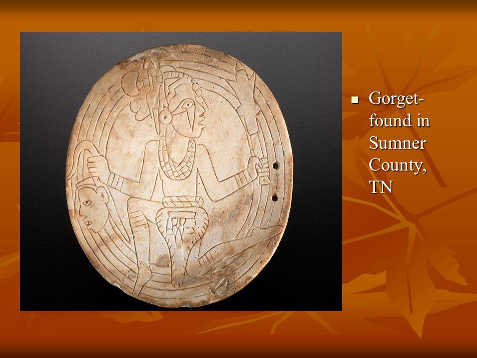 Gorget- found in Sumner County, TN