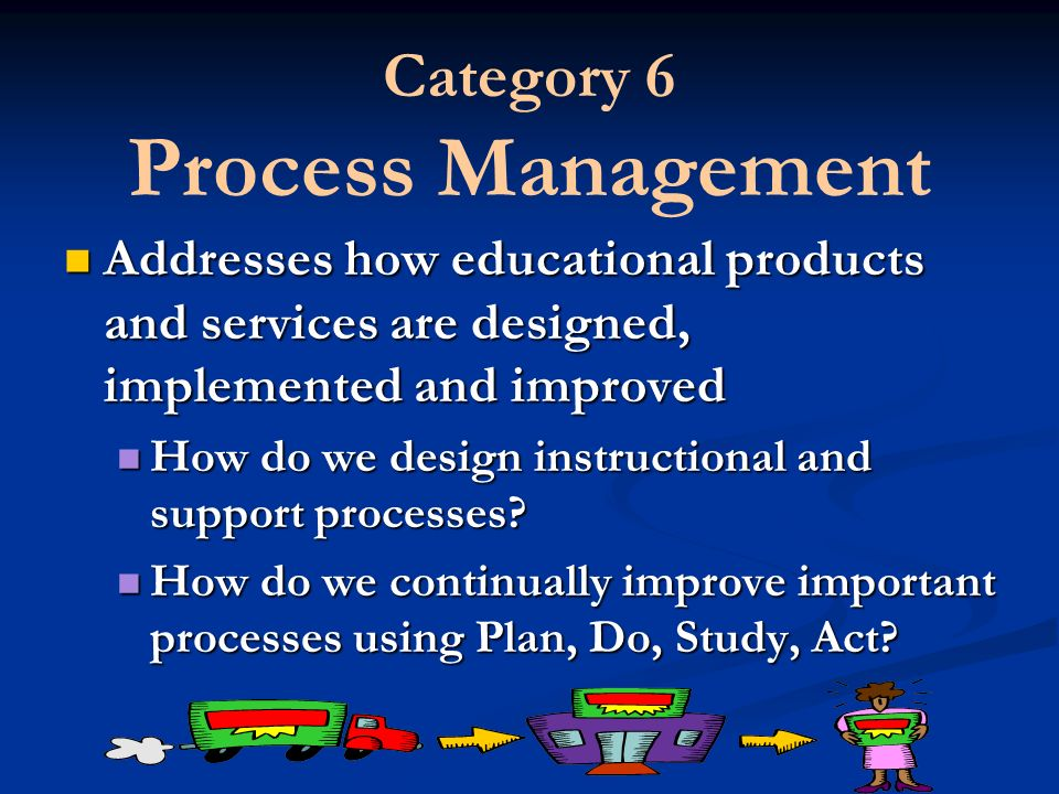 Category 6 Process Management