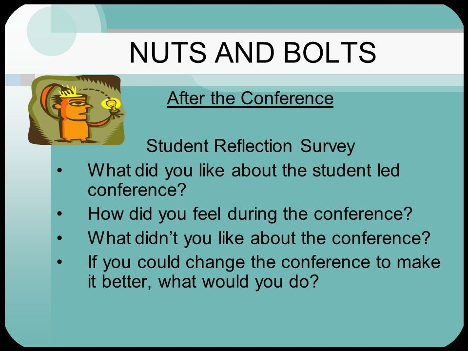 Student Reflection Survey