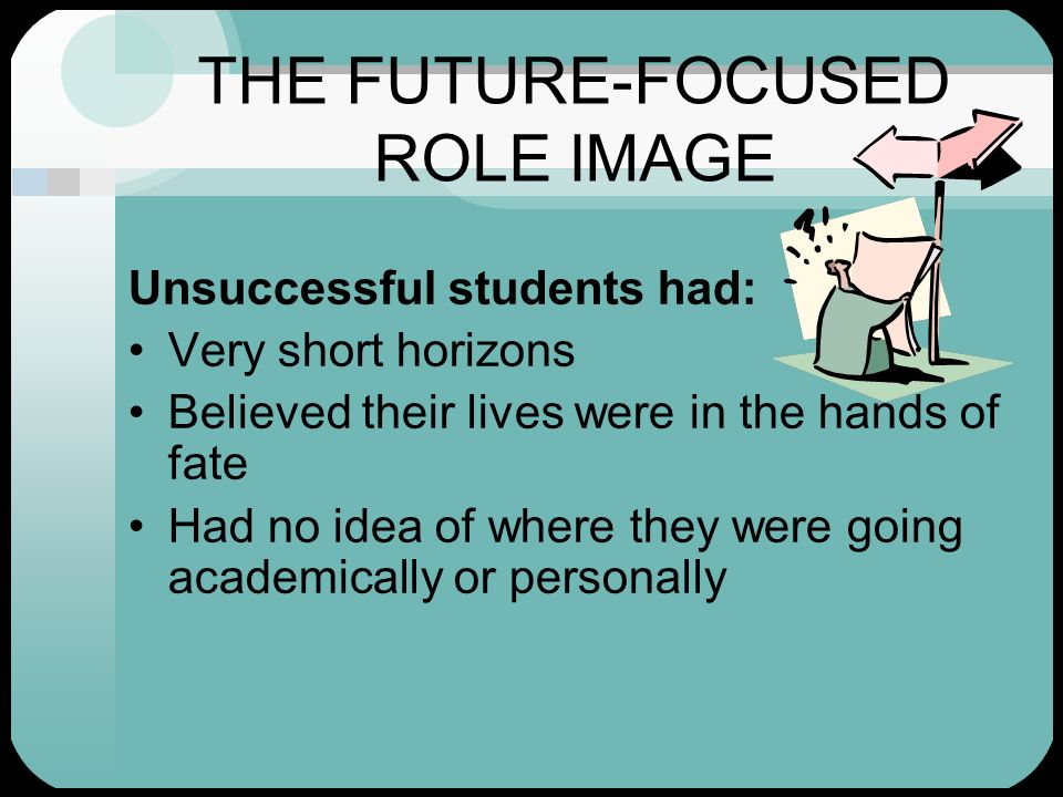 THE FUTURE-FOCUSED ROLE IMAGE