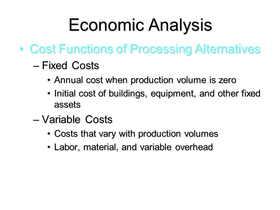 MBA Study Material - Managerial Economics - Production Analysis