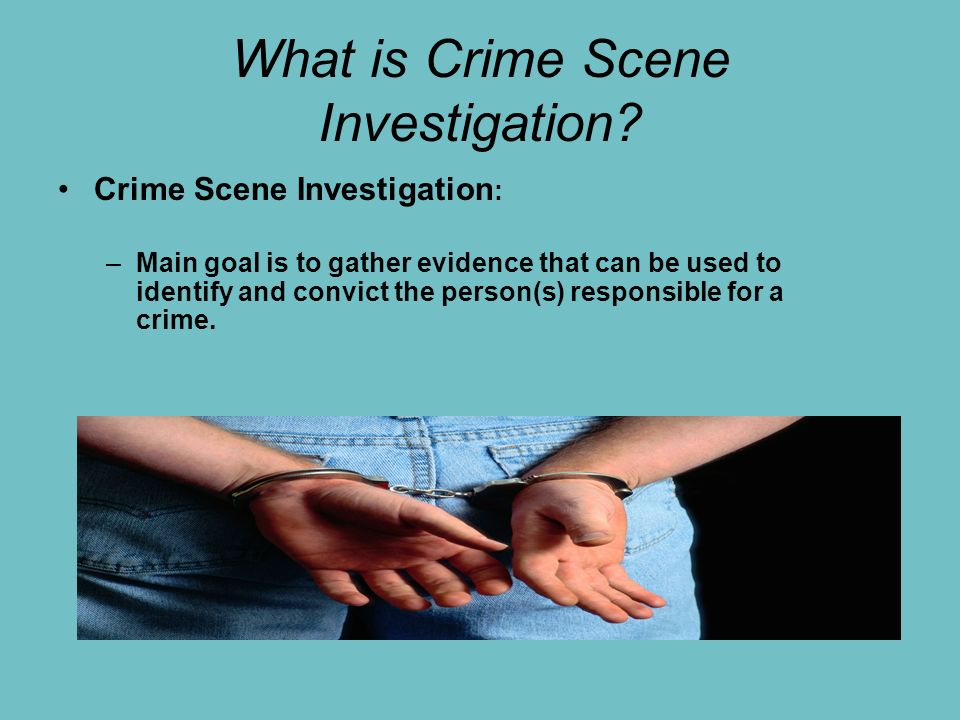 crime scene investigation - ppt video online download, Powerpoint templates
