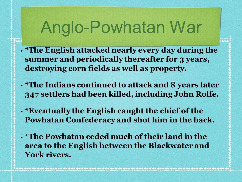 Anglo-Powhatan War