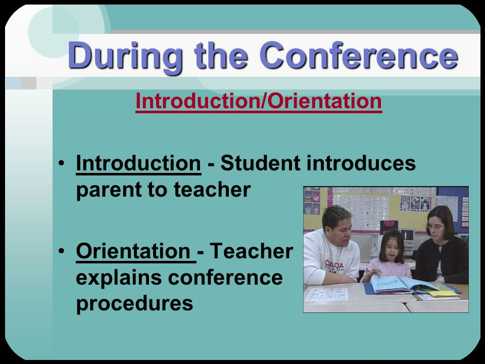 Introduction/Orientation