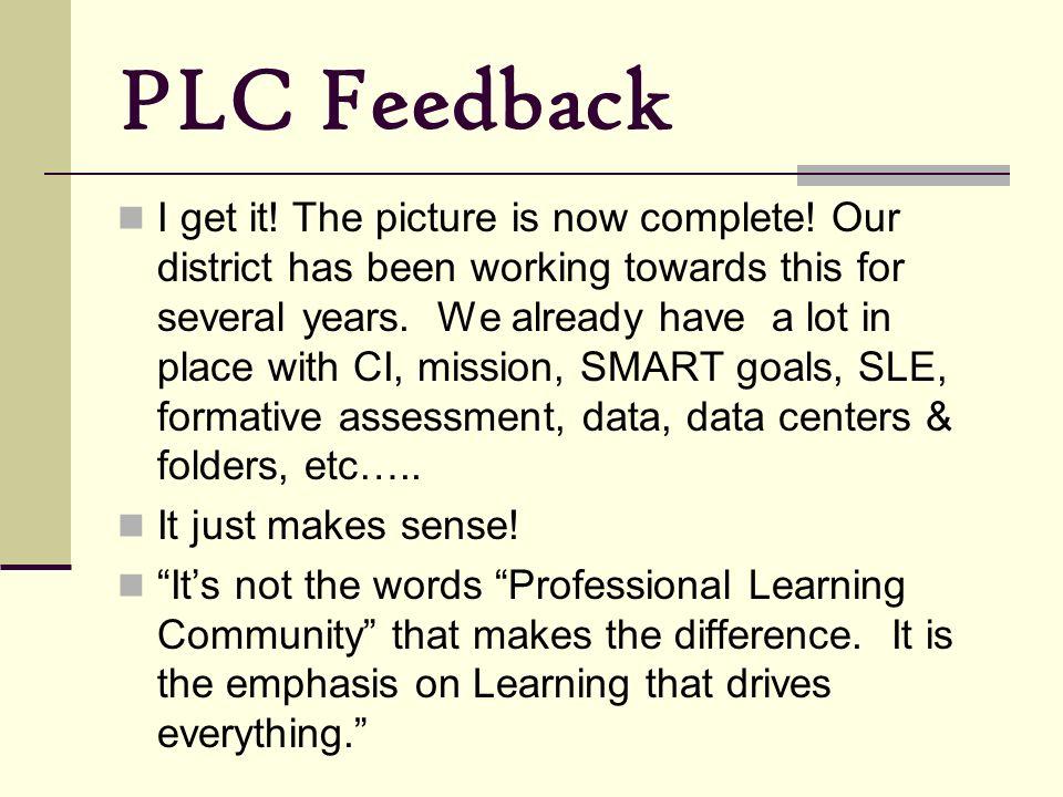 PLC Feedback