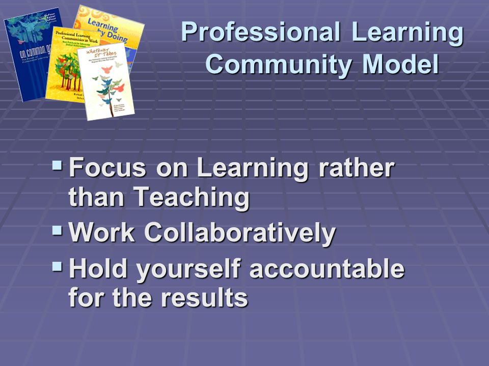 Professional Learning Community Model