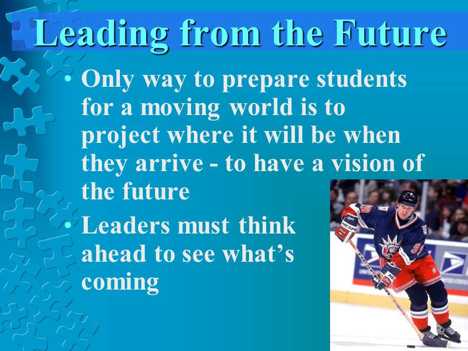 Leading from the Future