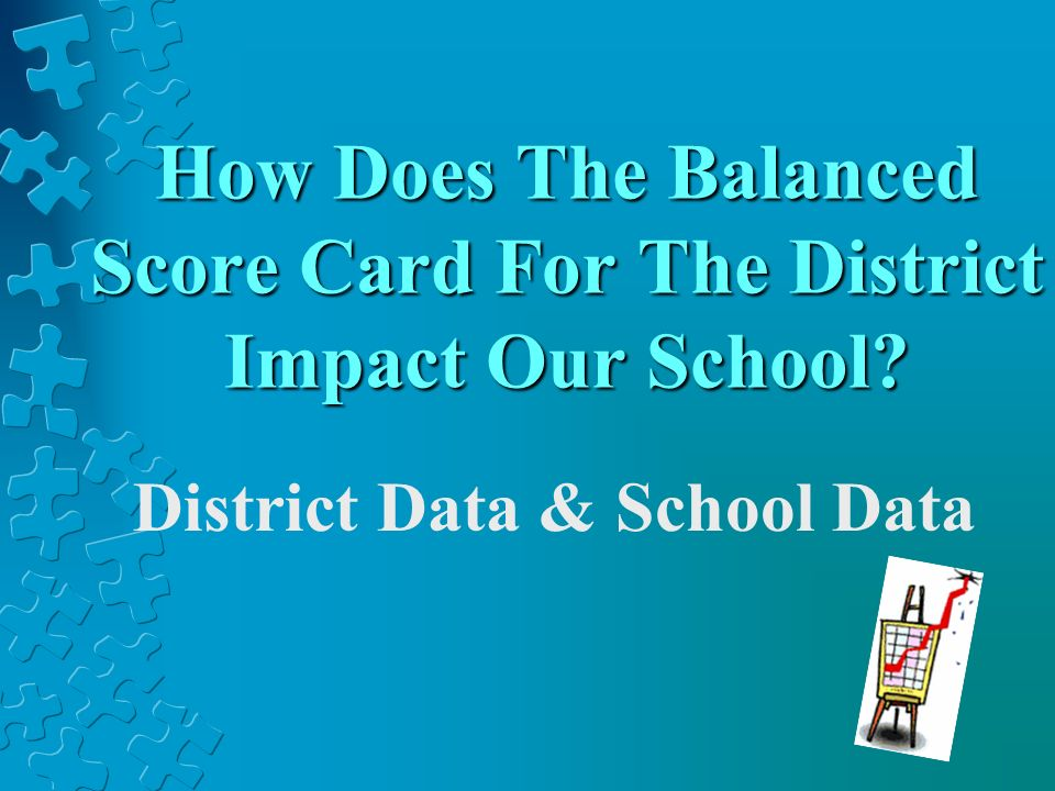 How Does The Balanced Score Card For The District Impact Our School