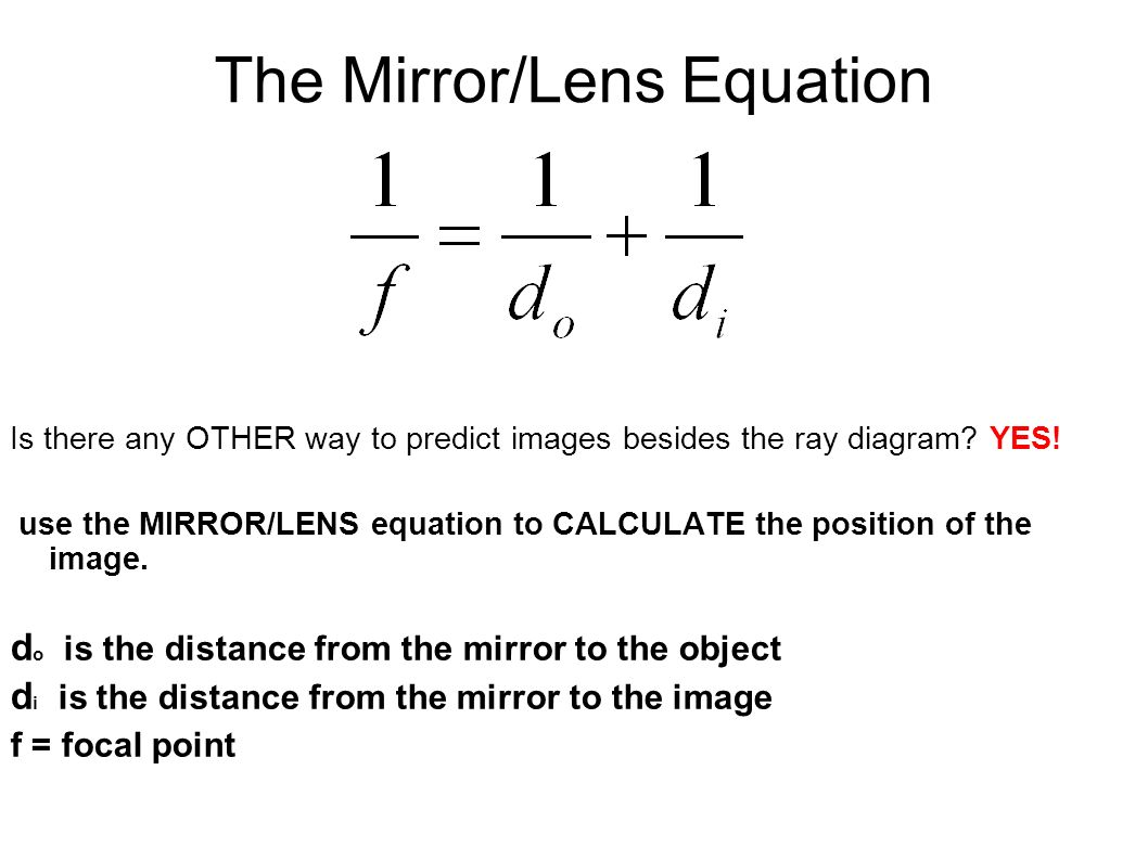Plane mirror suppose we had a flat plane mirror mounted for Mirror formula