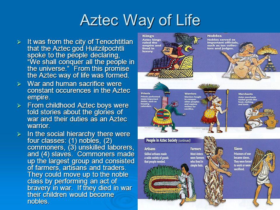 Aztec Way of Life