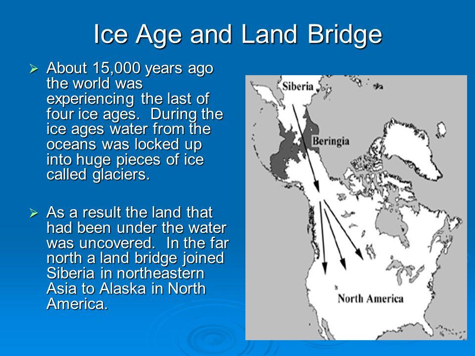 Ice Age and Land Bridge