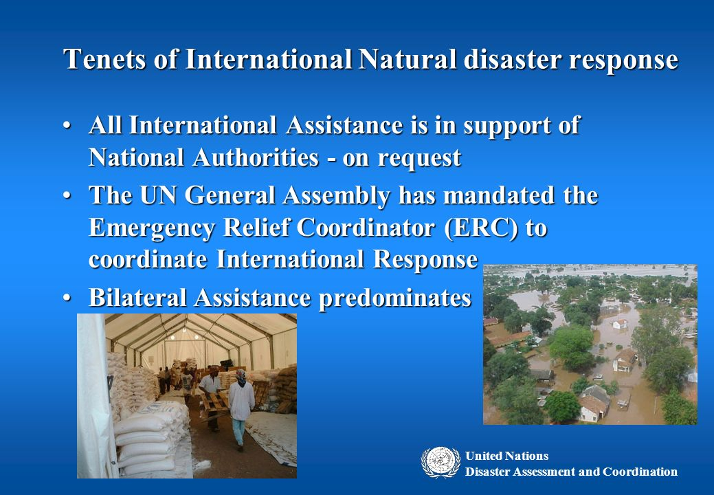 best system for disaster relief The robert t stafford disaster relief and emergency assistance act (the   greatest risk to the security of the nation, including major natural disasters,   management system of preparedness, protection, mitigation, response, and  recovery.