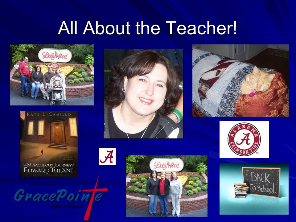 All About the Teacher!