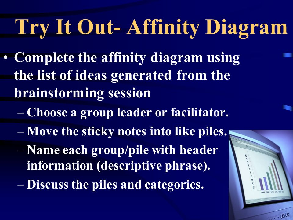 Try It Out- Affinity Diagram