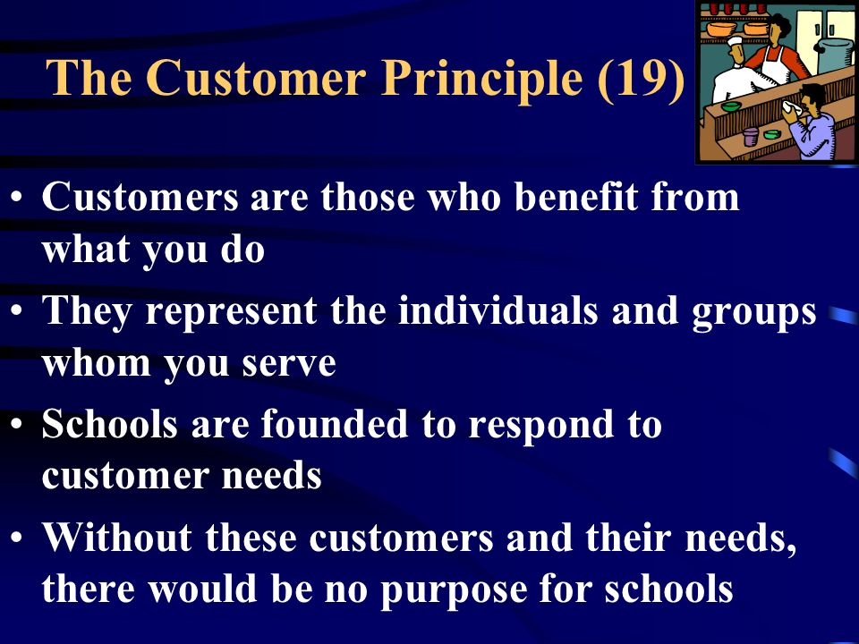 The Customer Principle (19)