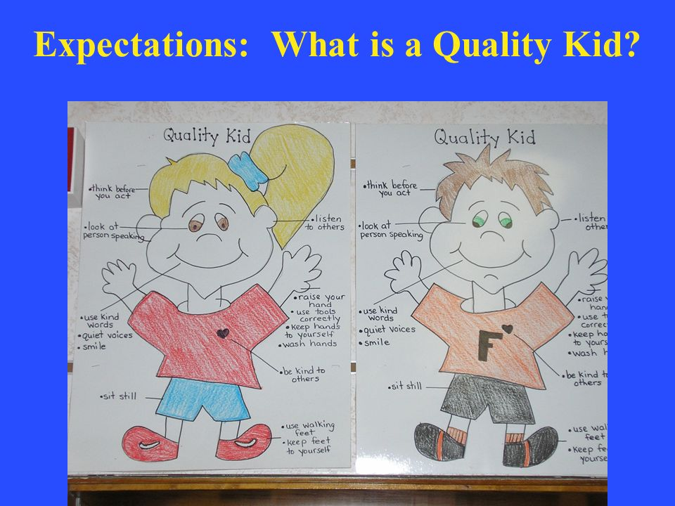 Expectations: What is a Quality Kid