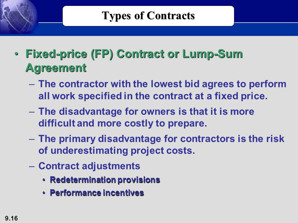 Associate professor mis department unlv ppt download for Fixed price construction contract