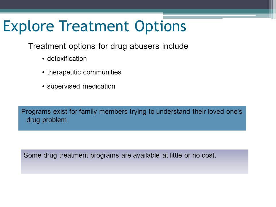 Explore Treatment Options