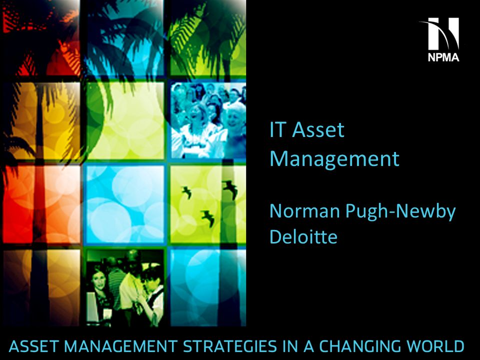 IT Asset Management Norman Pugh-Newby Deloitte