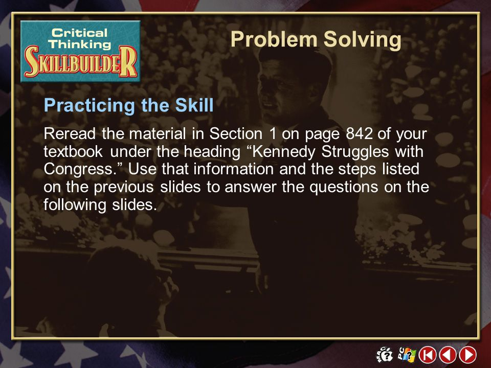 Problem Solving Practicing the Skill