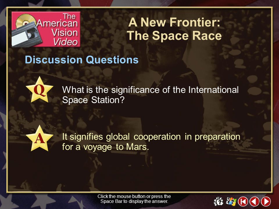 A New Frontier: The Space Race