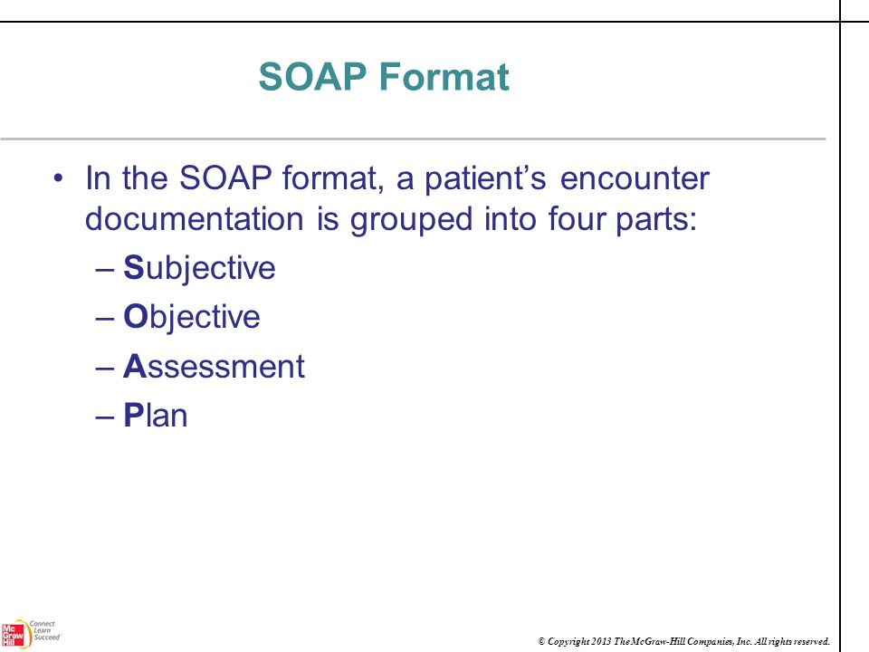 Introduction to Polaris Medical Group ppt download – Subjective Objective Assessment Planning Note