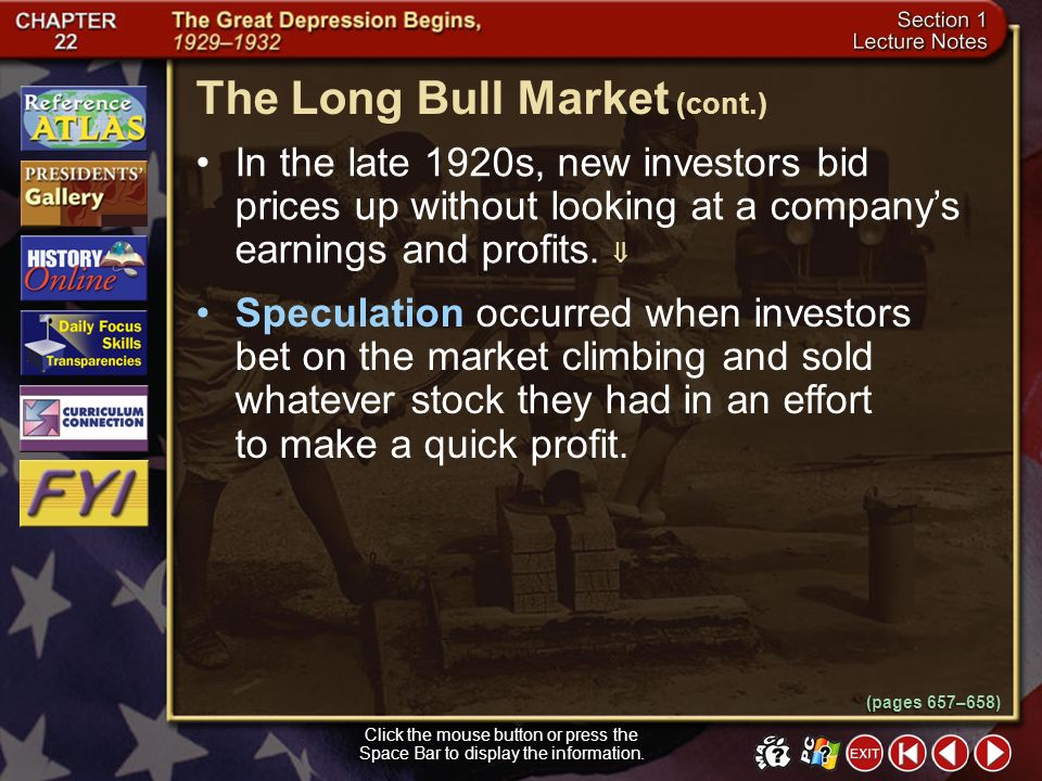 The Long Bull Market (cont.)
