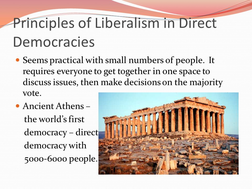 problems of liberal democracy Conceptions of democracy : hobbes : self-government of the people, - but  so  the rule must be limited and legitimate, the rights of the subject – liberalism,.