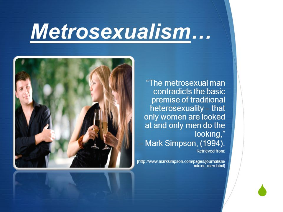 metrosexual dating site