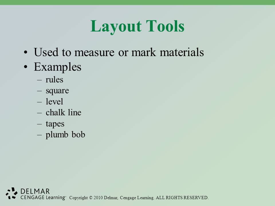 Examples Of Measurement Instruments : Hand tools fasteners and hardware ppt video online