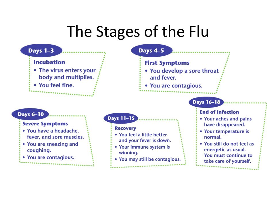 The Stages of the Flu