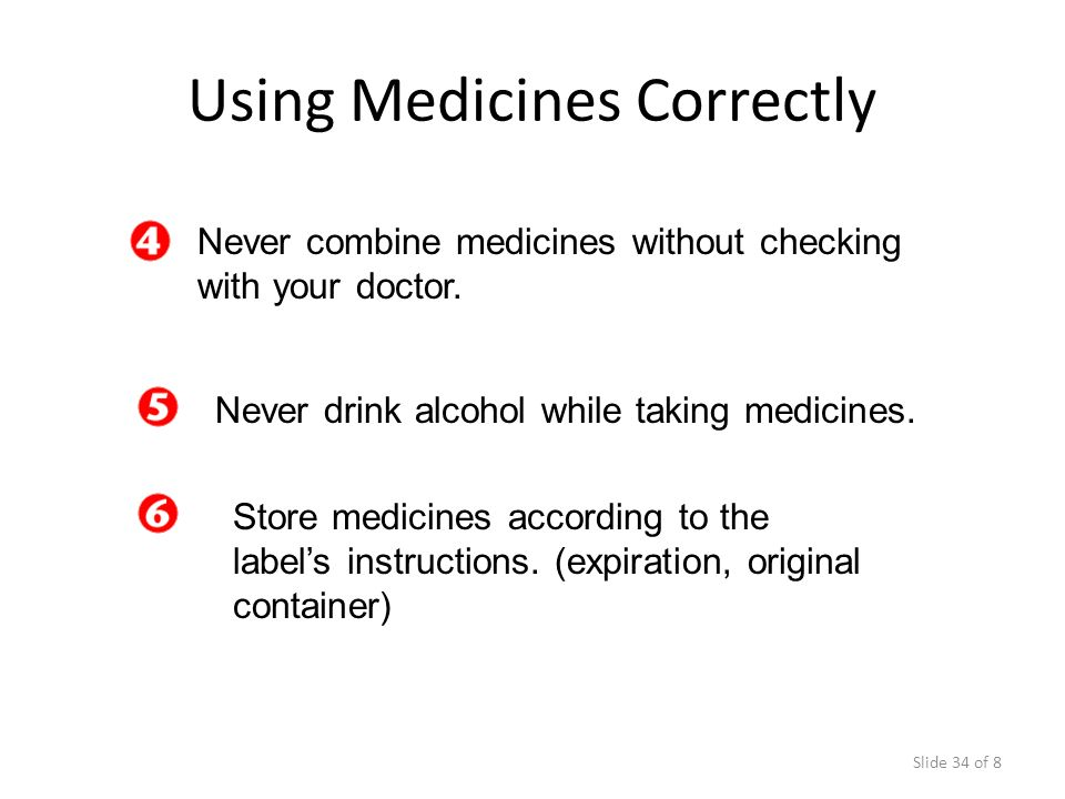 Using Medicines Correctly