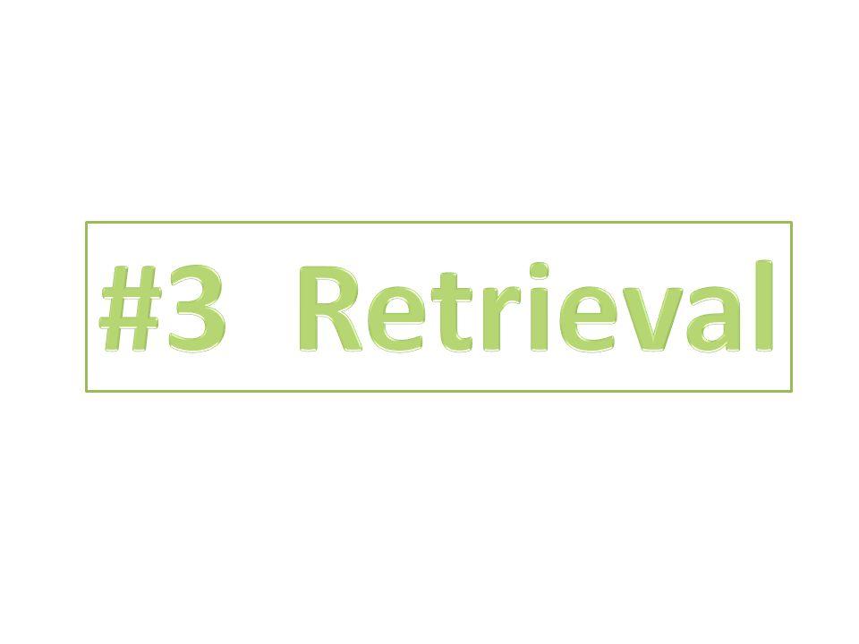 #3 Retrieval