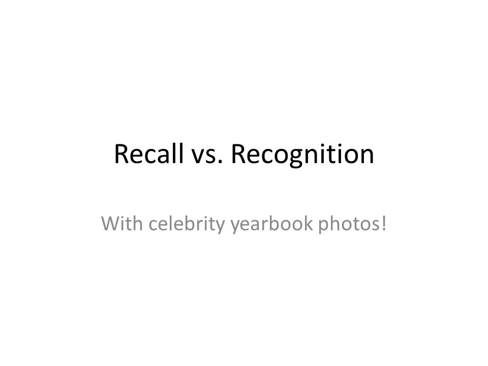 With celebrity yearbook photos!