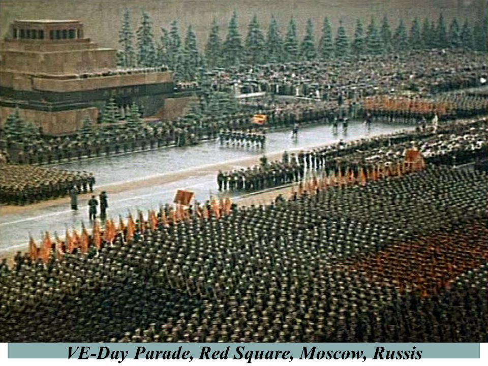 VE-Day Parade, Red Square, Moscow, Russis