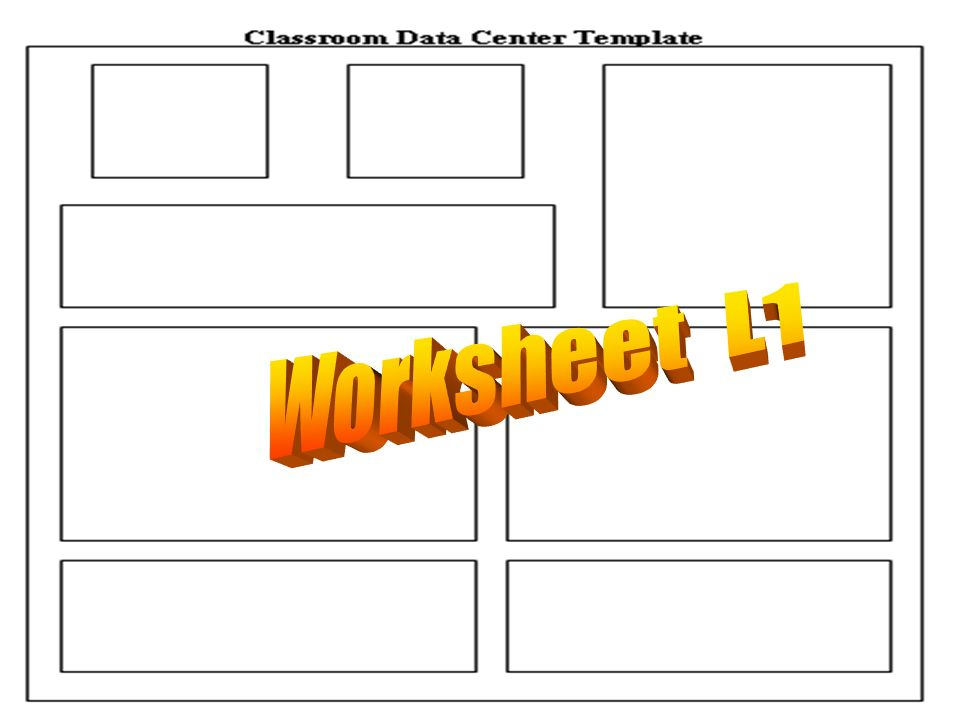 Worksheet L1