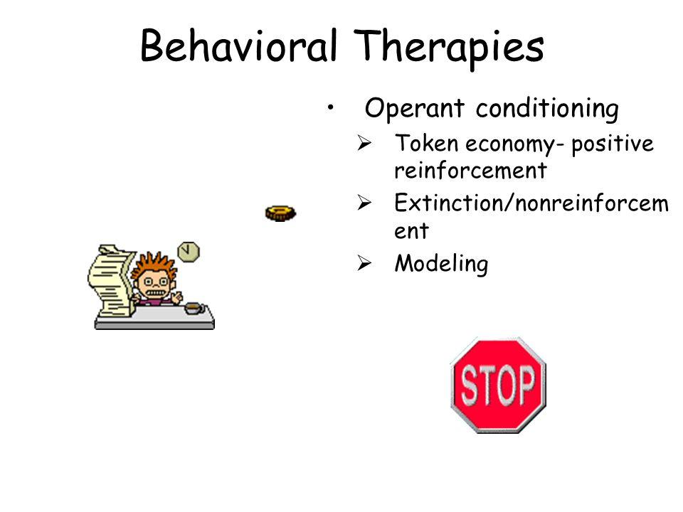 Behavioral Therapies Operant conditioning