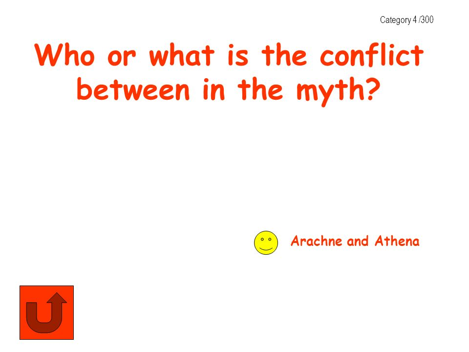 Who or what is the conflict between in the myth