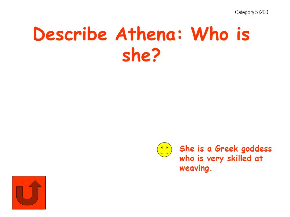 Describe Athena: Who is she