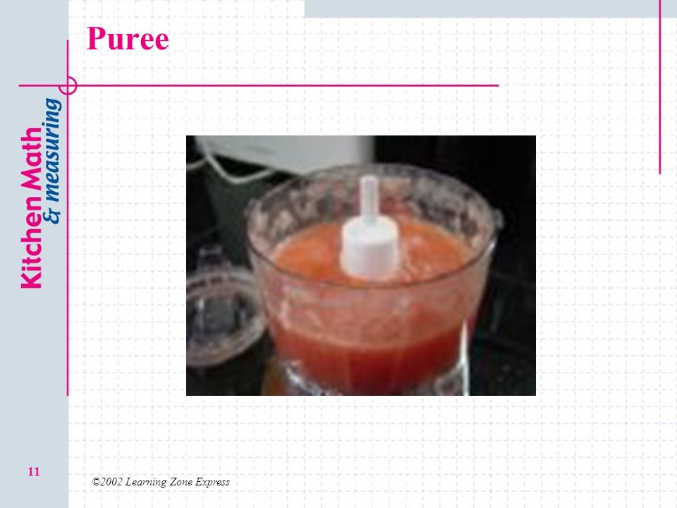 Puree ©2002 Learning Zone Express