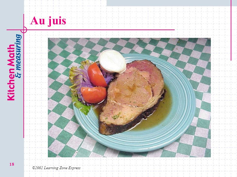 Au juis ©2002 Learning Zone Express