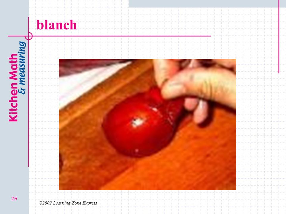blanch ©2002 Learning Zone Express