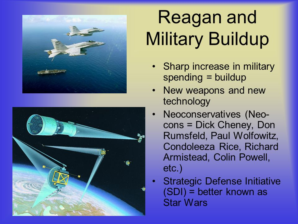 Reagan and Military Buildup