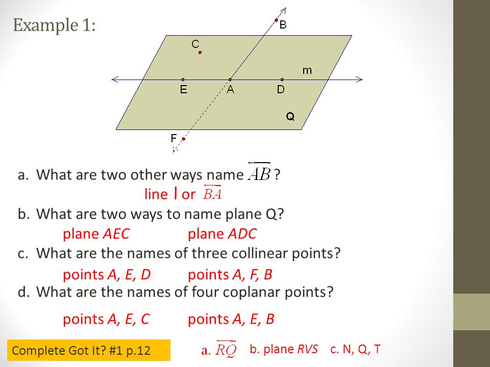 how to show three points are collinear