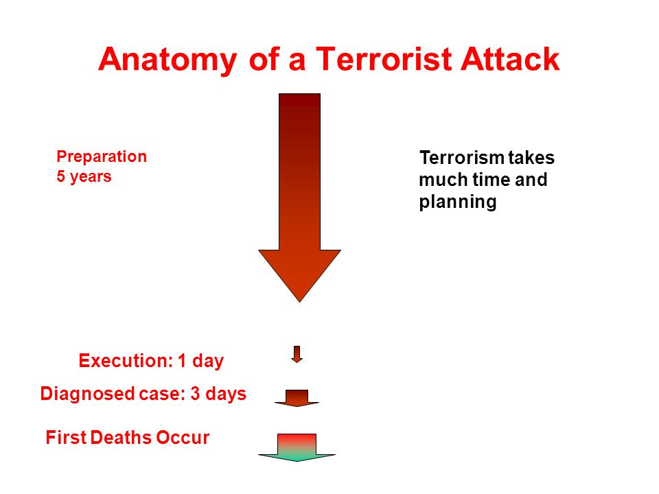 Anatomy of a Terrorist Attack