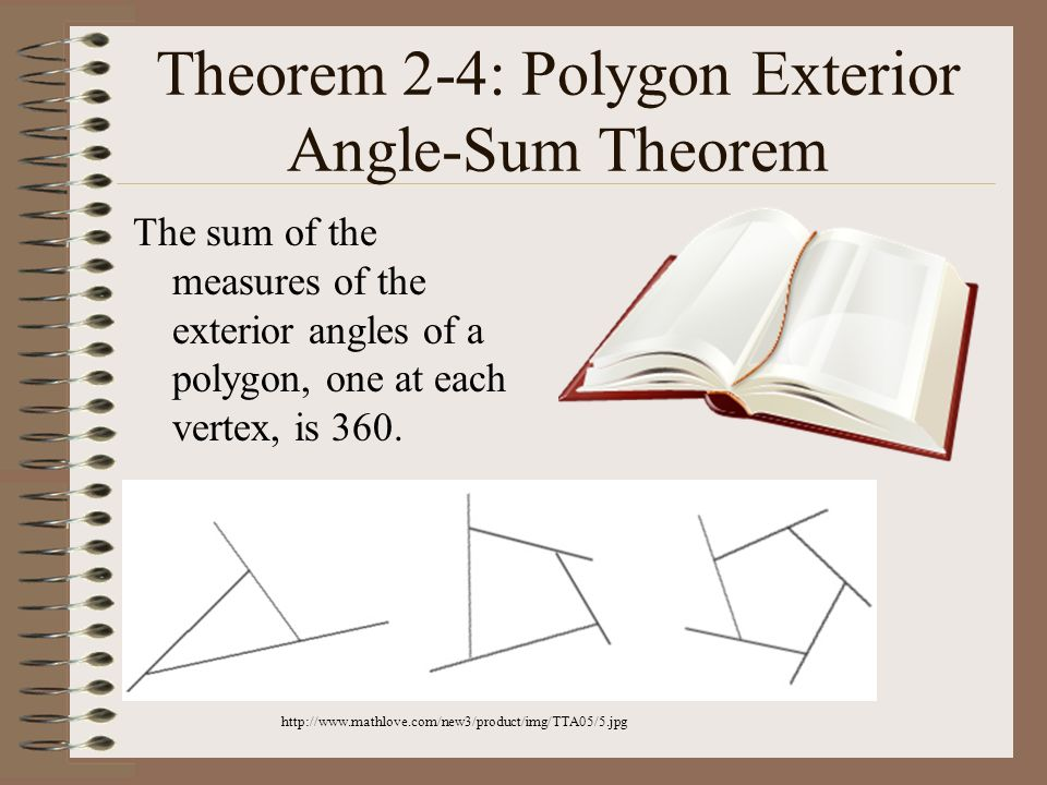 Name the polygons with the following number of sides - Define exterior angle of a polygon ...