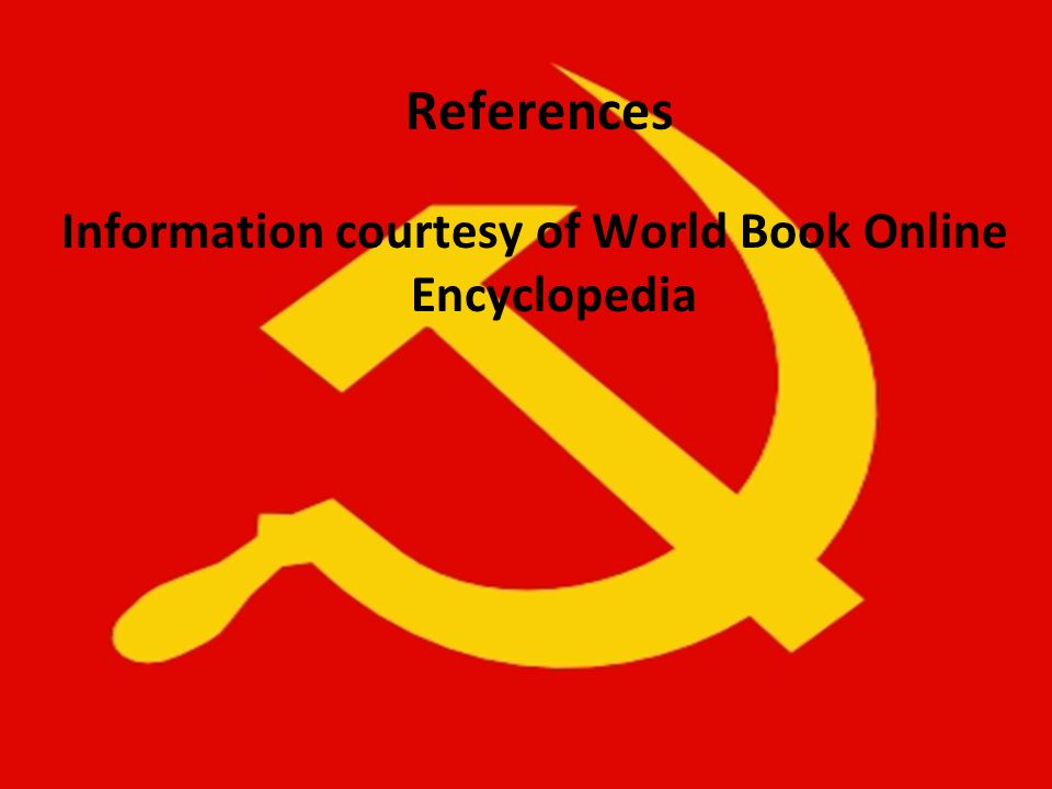 Information courtesy of World Book Online Encyclopedia