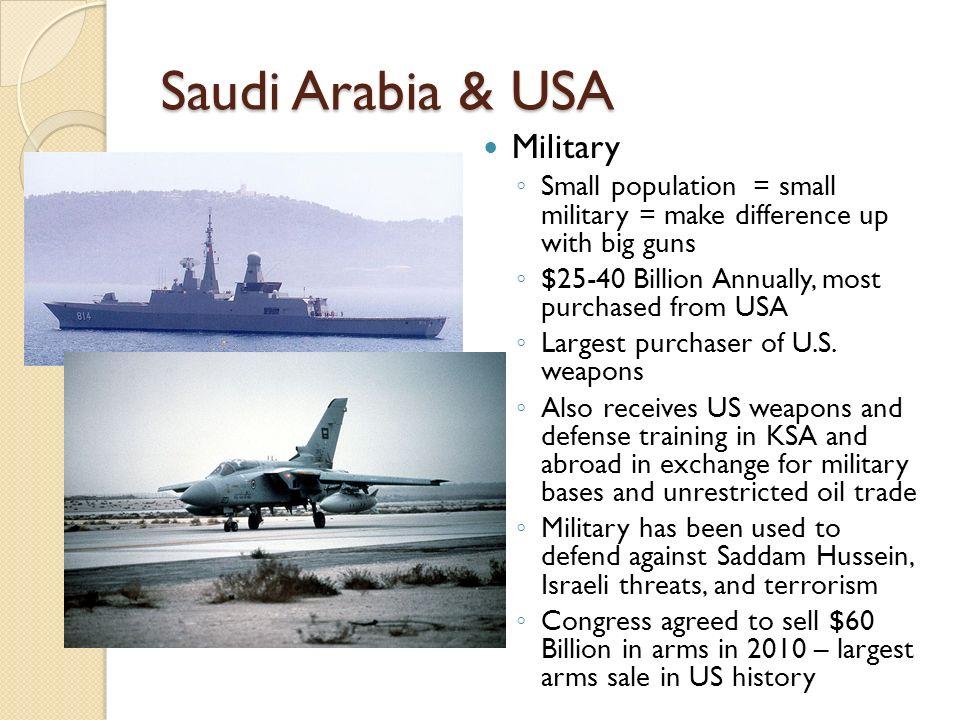 Saudi Arabia & USA Military