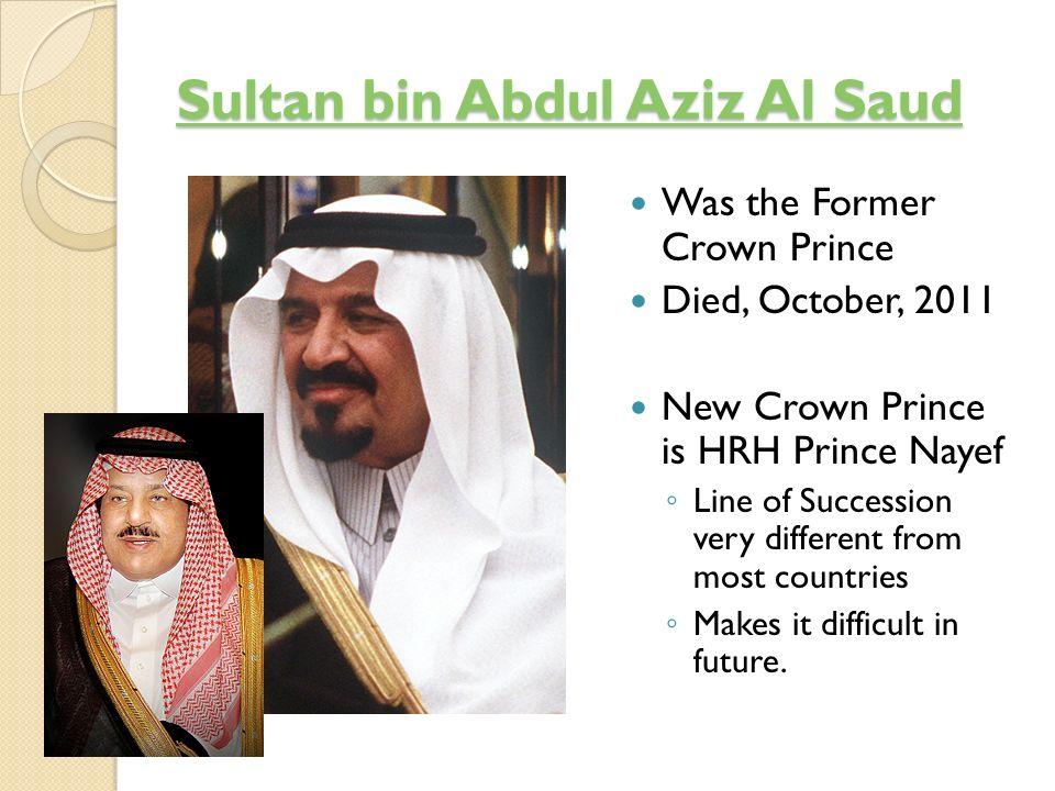Sultan bin Abdul Aziz Al Saud