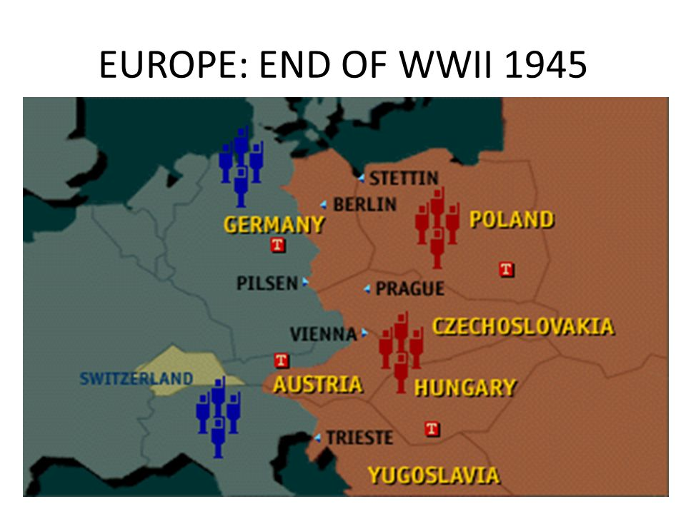EUROPE: END OF WWII 1945